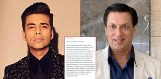 Madhur Bhandarkar Accepts Karan Johar's Apology