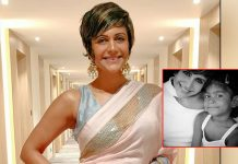 Mandira Bedi strikes a pose with her 'Lockstar'