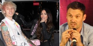 """Megan Fox Showers Love On Machine Gun Kelly 3 Weeks After Publicly Calling Out Brian Austin Green; Says """"Loving Him Is Like Being In Love With A Tsunami"""""""