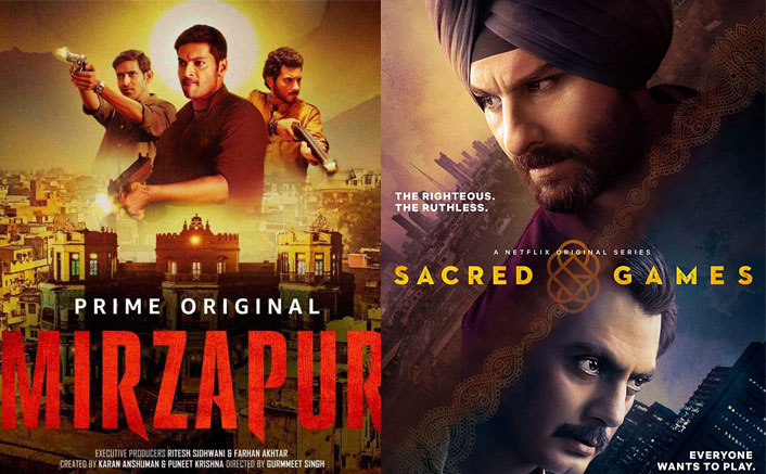 Mirzapur VS Sacred Games - Guess Who's Leading In Ratings & Get Ready To Be Surprised