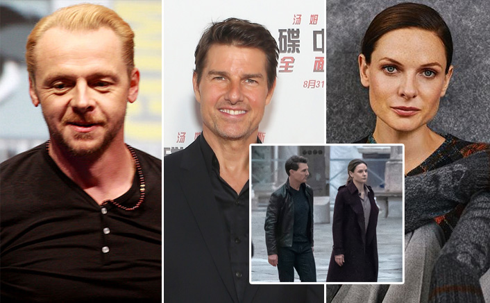 Mission Impossible 7: Tom Cruise, Simon Pegg & Rebecca Ferguson Rehearse For High Action Scenes In Venice(Pic credit: Instagram/officialrebeccaferguson, Getty Images)