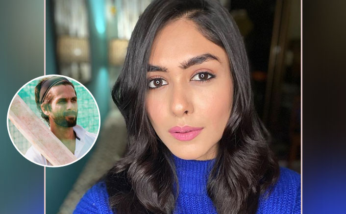 Mrunal Thakur Is Shooting For Jersey In Chandigarh