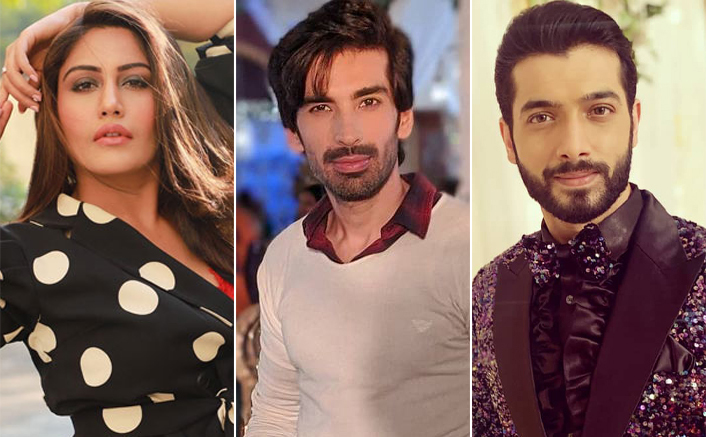 Surbhi Chandna, Mohit Sehgal & Sharad Malhotra Have A Fun Time On Naagin 5 Sets
