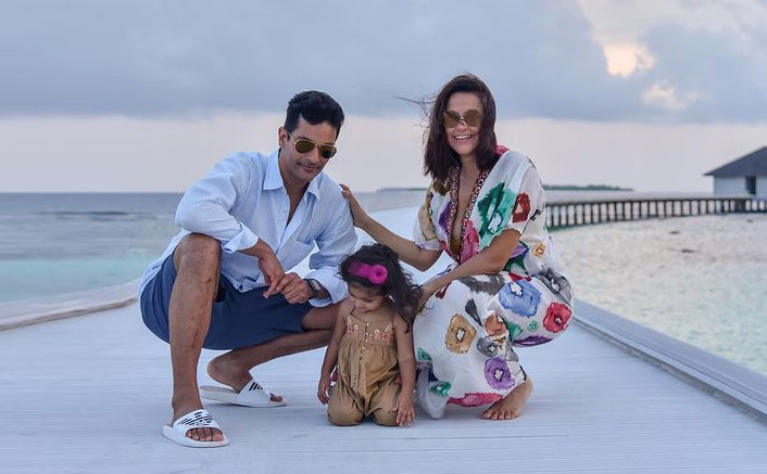 Neha Dhupia & Angad Bedi Pen Birthday Wishes For Daughter Mehr Dhupia Bedi