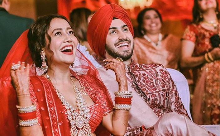 Neha Kakkar Shows Her 'Mehendi Da Rang' On First Karwa Chauth With Rohanpreet Singh, WATCH (Pic credit: Instagram/rohanpreetsingh)
