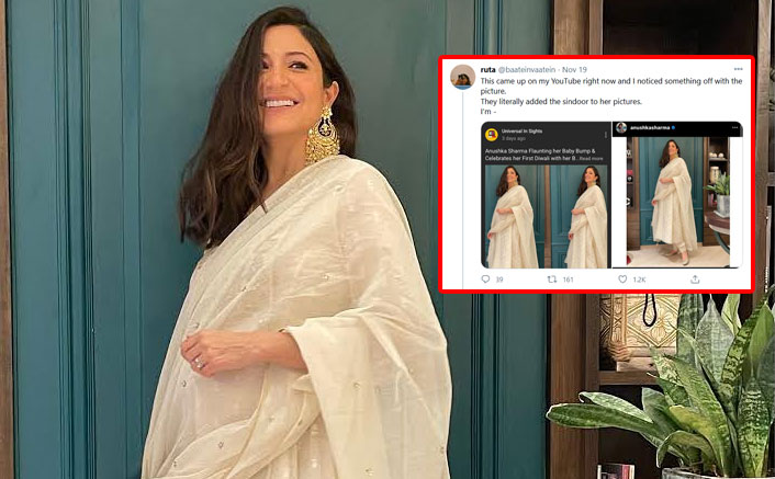 Netizens Angry As Anushka Sharma's Pics Gets Edited With Sindoor By YouTube Channel