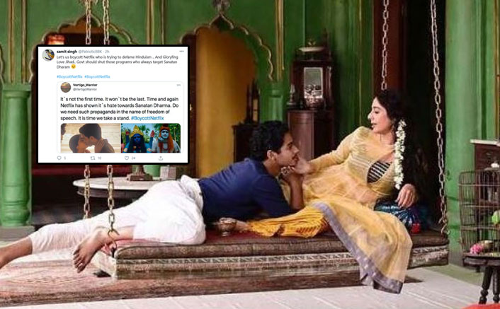 Netizens Furious Over Kissing Scene In A Temple In A Suitable Boy, Demand #BoycottNetflix