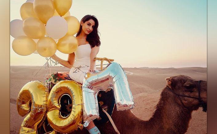 Nora Fatehi Celebrates 20 Million Followers On Instagram