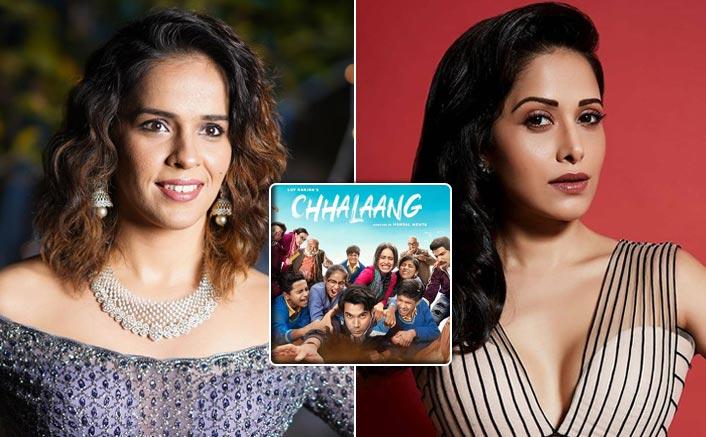 Nushrratt Bharuccha's performance in Chhalaang wins applause from sportsperson Saina Nehwal