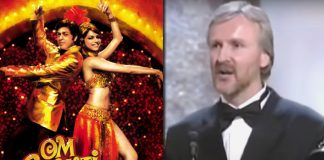 One Of Shah Rukh Khan's Om Shanti Om Dialogue Was Inspired By Titanic Director James Cameron's Oscar Speech