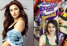 Parineeti Chopra Features On Cracker Boxes Despite The Fact That She Is Against Its Use