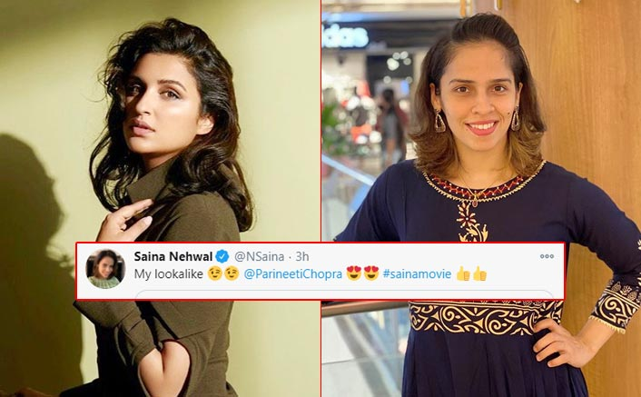 Parineeti Chopra Looks Exactly Like Saina Nehwal In This Unseen Picture From The Sets
