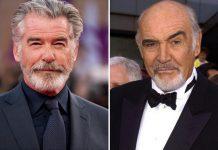 Pierce Brosnan honours original 007 Connery