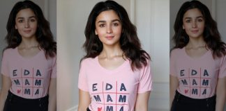 Please find below a press release and pictures attached as Alia Bhatt launched her own label for kids clothing,