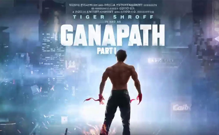 First Look of Tiger Shroff in upcoming action thriller Ganapath