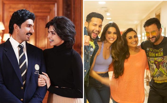 Ranveer Singh Starrer '83 To Release In 2021, Rani Mukerji-Saif Ali Khan's Bunty Aur Babli 2 To Release On Christmas?