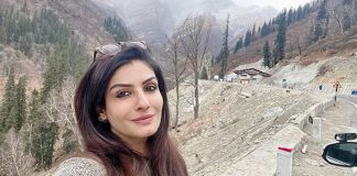 Raveena Tandon enjoys 'thandi ka mausam'