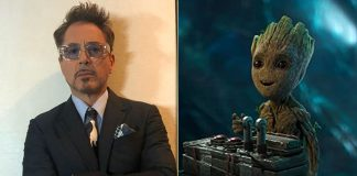 Robert Downey Jr Shows Us How Cute Tony Stark & Baby Groot Would Look