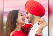 Neha Kakkar & Rohanpreet Singh Celebrate 1-Month Wedding Anniversary With A Kiss, Watch