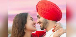 Neha Kakkar & Rohanpreet Singh Celebrate 1-Month Wedding Anniversary With A Kiss, Watch