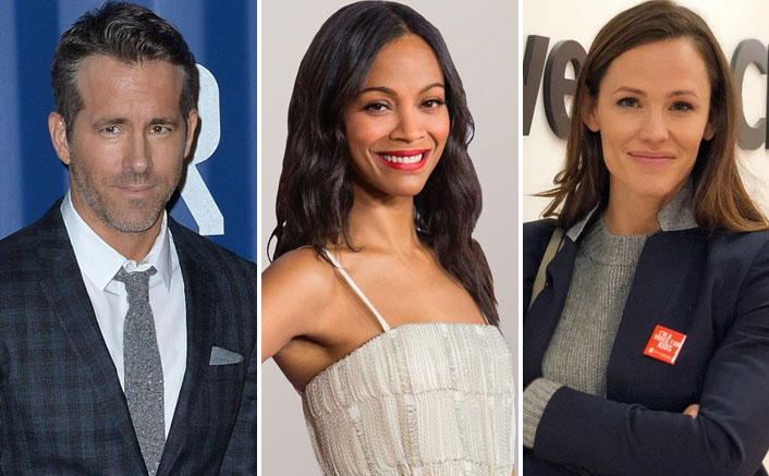 Ryan Reynolds, Zoe Saldana & Jennifer Garner In A Netflix Film