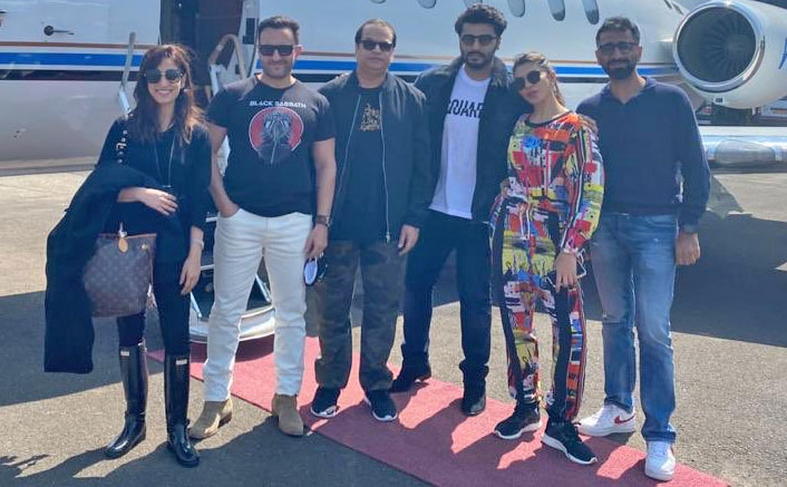Saif, Jacqueline, Yami, Arjun start shooting for 'Bhoot Police'