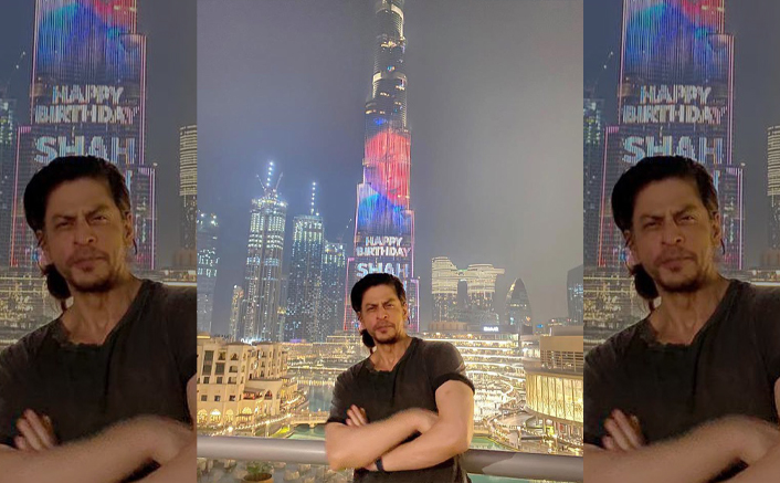 Shah Rukh Khan SHATTERS Records By Featuring On Burj Khalifa On His Birthday!