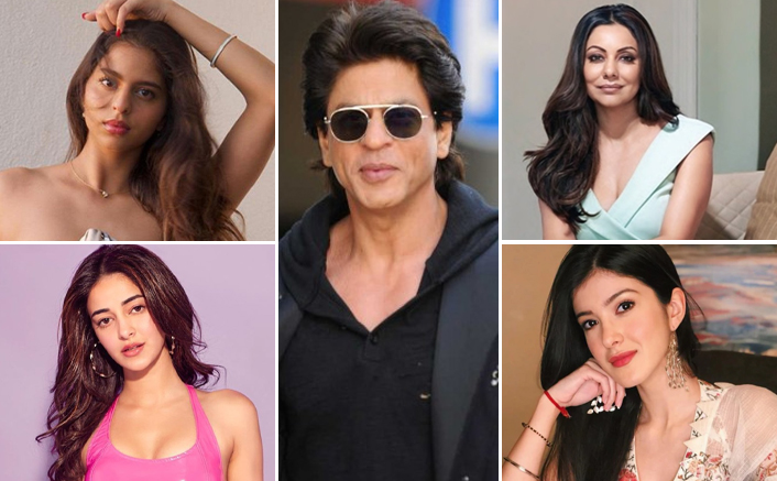 Shah Rukh Khan Used To Babysit Suhana Khan, Ananya Panday & Shanaya Kapoor When Gauri Khan Partied With Friends In London