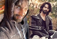 Shahid Kapoor soaks up the sun in the hills