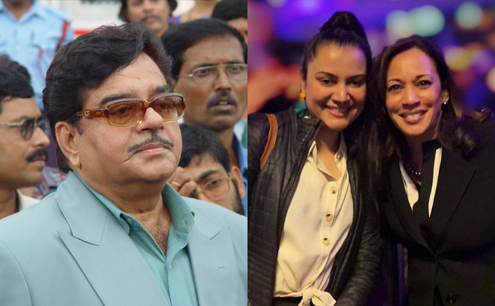 Shatrughan Sinha says his niece has been 'closely associated with' Kamala Harris(Pic credit: Twitter/Shatrughan Sinha)
