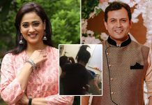 "Shweta Tiwari Allegedly Pushes Estranged Husband Abhinav Kohli As He Tries To Enter Her House: ""Andar Mat Aao"""