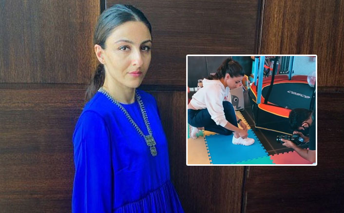 Soha Ali Khan gets back to basics