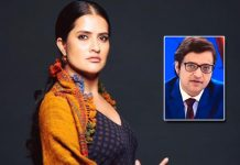 Sona Mohapatra Calls Netizens 'Fascist' Those Celebrating Arnab Goswami Bail Denial