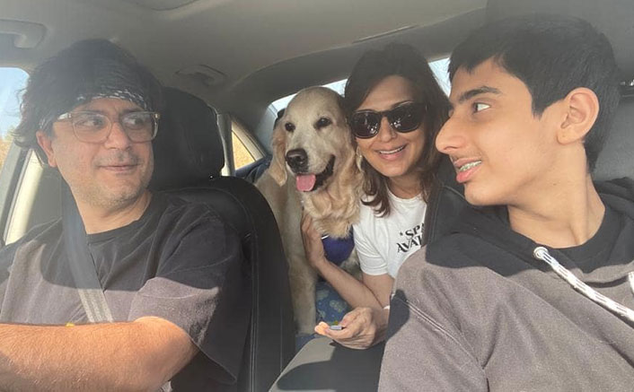 Sonali Bendre's road trip gala with family on 18th wedding anniversary