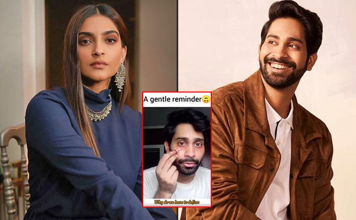 Sonam Kapoor Shares Ankush Bahuguna Video & Promotes Makeup For Men