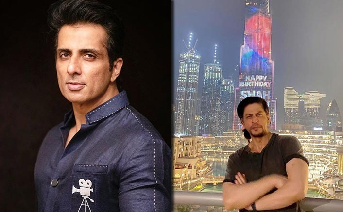 Sonu Sood Gives An Epic Reply To A Follower Wanting His Name On Burj Khalifa For His B'day Like Shah Rukh Khan
