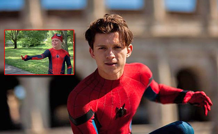 'Spider-Man' Tom Holland Surprises A Young Heart Transplant Patient; Entrusts Him With His Superhero Duties!