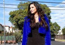 Sunny Leone stuns in Little Black Dress