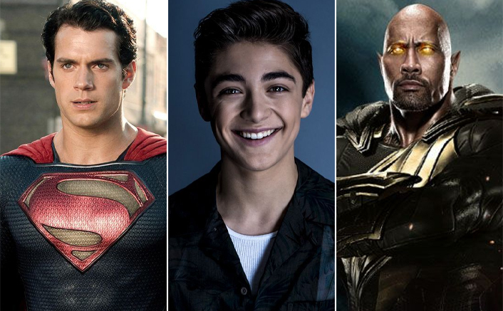 Shazam Star Asher Angel Says Henry Cavill's Superman Could Defeat Dwayne Johnson's Black Adam