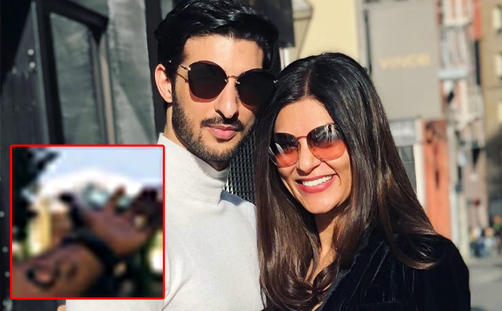 Sushmita Sen's BF Rohman Shawl Gets Her Name Inked On His Arms
