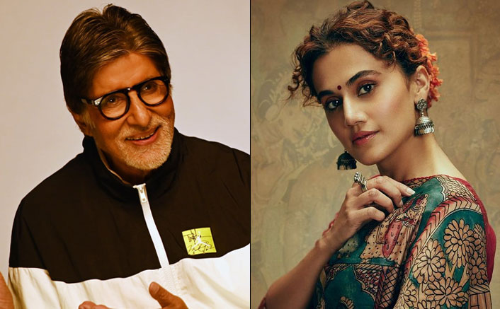 Taapsee Pannu Says She Treats Amitabh Bachchan Just Like Any Other Young Co-Star
