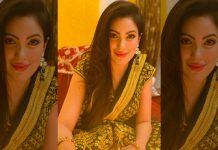 Taarak Mehta Fame Munmun Dutta Looks Drop Dead Gorgeous In Vintage Themed Saree!