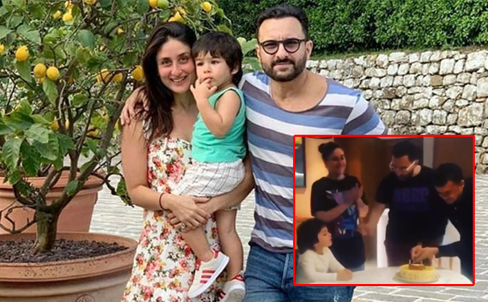 Taimur Ali Khan Singing 'Happy Birthday' With Kareena Kapoor Khan & Saif Ali Khan Is Adorable