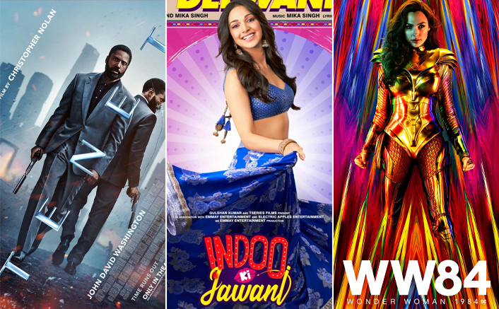 Tenet, Indoo Ki Jawaani & Wonder Woman 1984 Are All Set To Hit Cinemas In December 2020