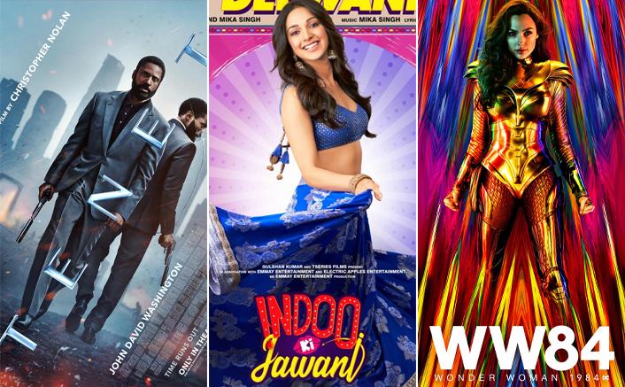 Tenet, Indoo Ki Jawaani & Wonder Woman 1984 Are All Set To Hit Cinemas In December 2020
