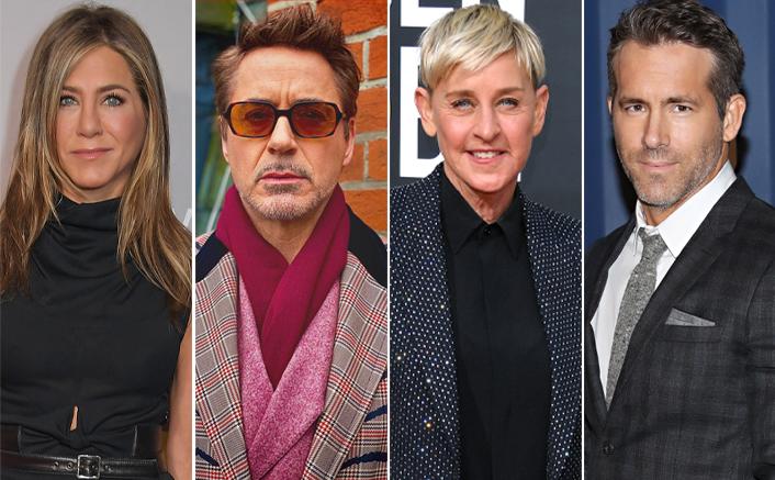Jennifer Aniston, Robert Downey Jr, Ellen DeGeneres & Ryan Reynolds Celebrate Thanksgiving 2020