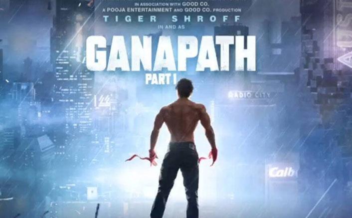 Tiger Shroff In A Still From Ganapath Teaser
