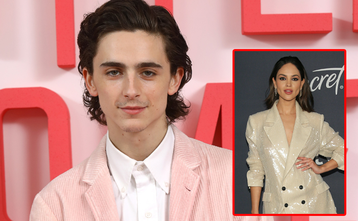 Timothée Chalamet Spotted On A Coffee Run With A Hickey; Fans Suspect If It's From Eiza Gonzalez