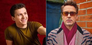 Tom Holland & Robert Downey Jr Used Shoe To Click Pics