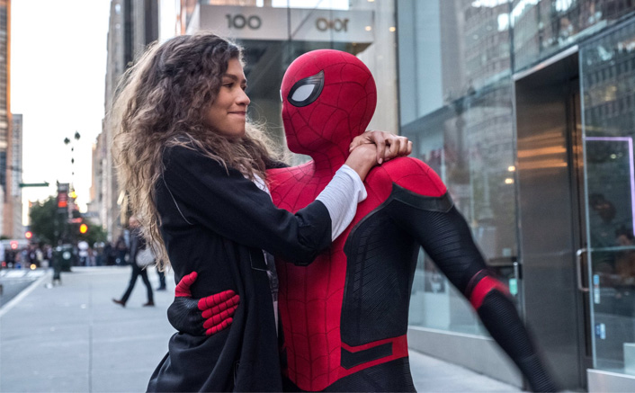 Tom Holland & Zendaya Perform Stunt For Spider-Man 3(Pic credit: Still From Spider-Man: Far From Home)